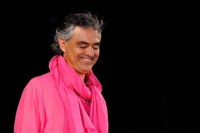 זמר הטנור האיטלקי אנדראה בוצ'לי בברלין